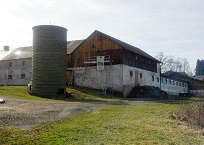 Bauernhof GERU Sanierung vorher
