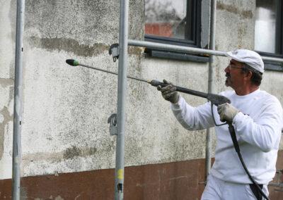 Fassadenbeschichtung mit GERULAN