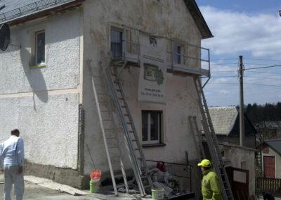 Fassadensanierung GERU vorher