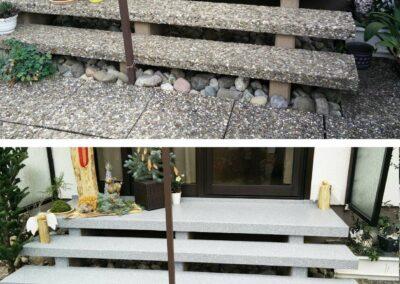 GERU Treppen Beschichtung Flüssigkunststoff