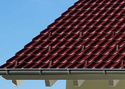 Geru Dachbeschichtung nachher