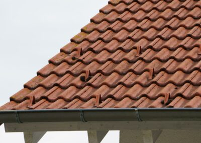 Geru Dachbeschichtung vorher