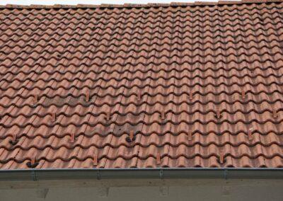 Geru Dach reinigen, sanieren