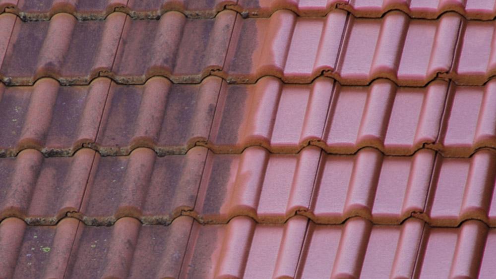 Alte Dachziegel erneuern durch Dachbeschichtung