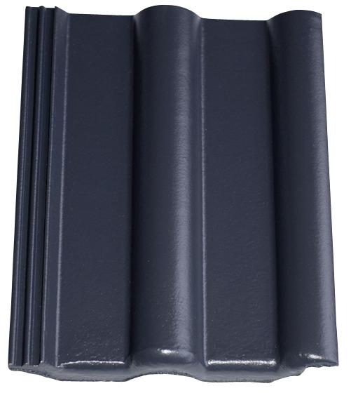 Dachziegel in Anthrazit Farbe, Dachziegel dunkelblau