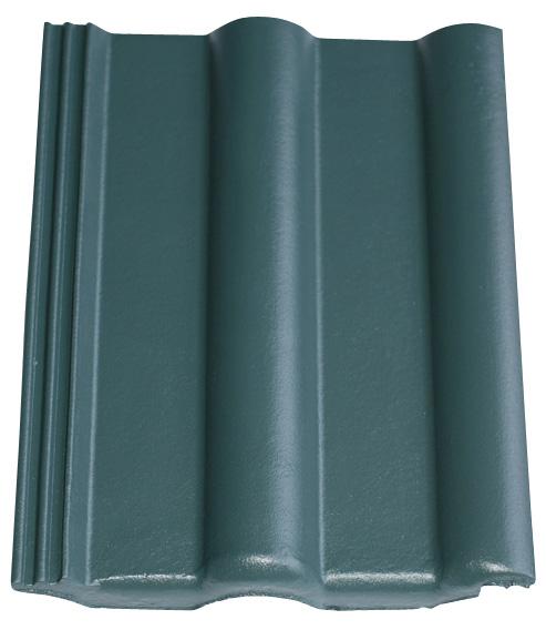 Dachziegel in Farbe grün Noblesse