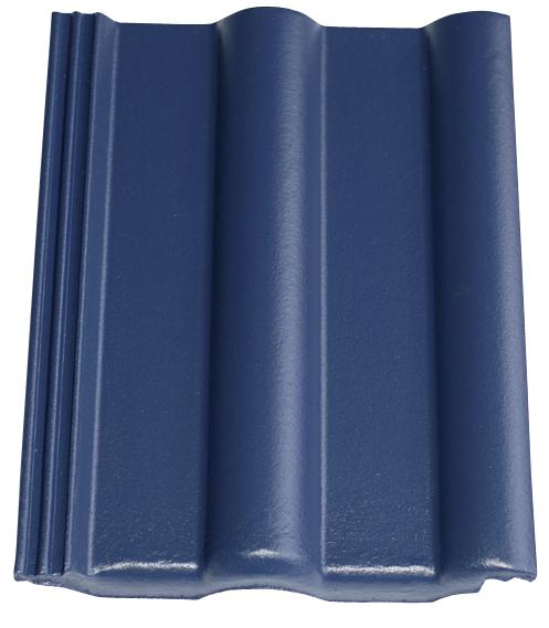 Dachziegel in Farbe Noblesse blau